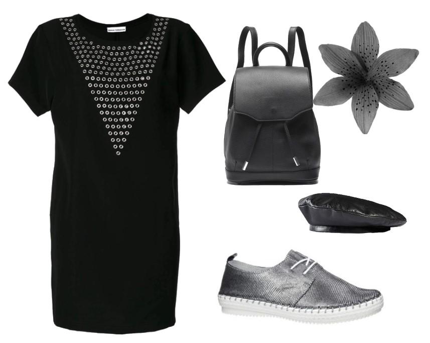 Jakie buty do czarnej sukienki?
