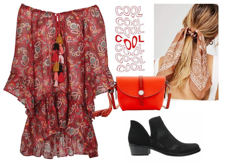 Jakie buty do czerwonej sukienki?